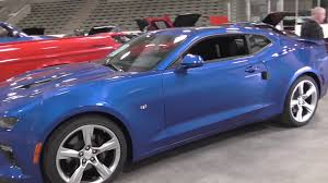 2017 Chevrolet Camero SS And A 2017 Corvette Northern Lights Arena