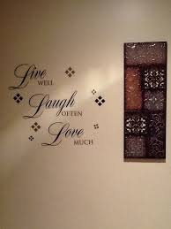 My Kitchen Wall Decor Bought At Pier One And Kirkland Home