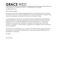 Best Software Engineer Cover Letter Examples