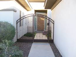 100 Homes Made Of Steel DCS Industries Custom Fences Gates Powder Coating Security Doors
