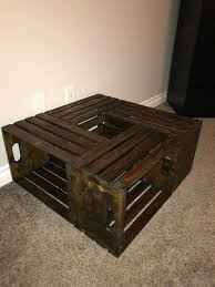 Diy Coffee Crate Table