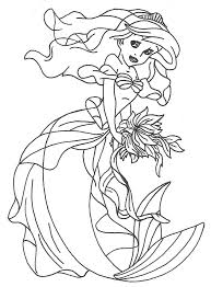 Coloring Books Ariel Dress