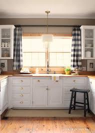 Impressive Above Kitchen Window Decor Best 25 Curtains Ideas On Pinterest Farmhouse