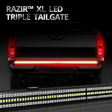 RAZIR XL BackBone Beam LED Tailgate Light Bar | HIDeXtra 4 Inch Red 24 Led Round Stopturntail Truck Trailer Light 3 Wire Db5061 24v 90leds 7 Functions Universal Led Truck Rear Light For Emark 140mm 20led Stop Tail Lights Amber Left Right Atomic Strobing Cab Marker Kit Ford Aw Direct 21 Series High Mounted 16 Diode Rectangular Amazoncom Lamphus Sorblast 34w Cstruction Tow Quick Attacklight Rescueheiman Fire Trucks 2018 12 Led Turn Flush Mount Lite Headlights Rigid Industries 55001 Wrangler Jk Headlight Trucklite Pair Luxury Fog F24 In Stunning Image Selection With 44104y Super 44 Flange Yellow Warning
