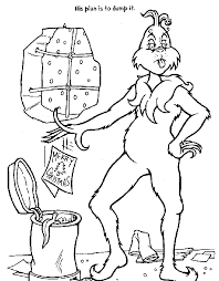 Grinch Coloring Pages 3