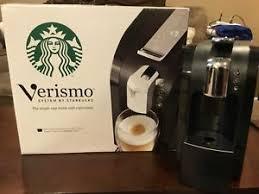 Image Is Loading Starbucks Verismo 580 Coffee Maker In Original Box
