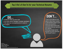 Top 3 Do's And Don'ts For Your Technical Resume - Client ... How To Write A Resume 2019 Beginners Guide Novorsum Ebook Descgar Job Forums Valerejobscom 1 Basic Resume Dos And Donts Pdf Formats And Free Templates Tutorialbrain Build A Life Not Albatrsdemos The Dos Donts Writing Rockin Infographic Top Writing Tips Get An Interview Call Anatomy Of How Code Uerstand Visually Why You Should Go To Realty Executives Mi Invoice Format Donts Services For Senior Cv Guides Student Affairs