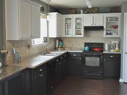 the on bottom light top cabinets kitchen cabinets at
