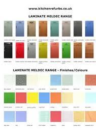 Meldec Laminate Range Style Colours