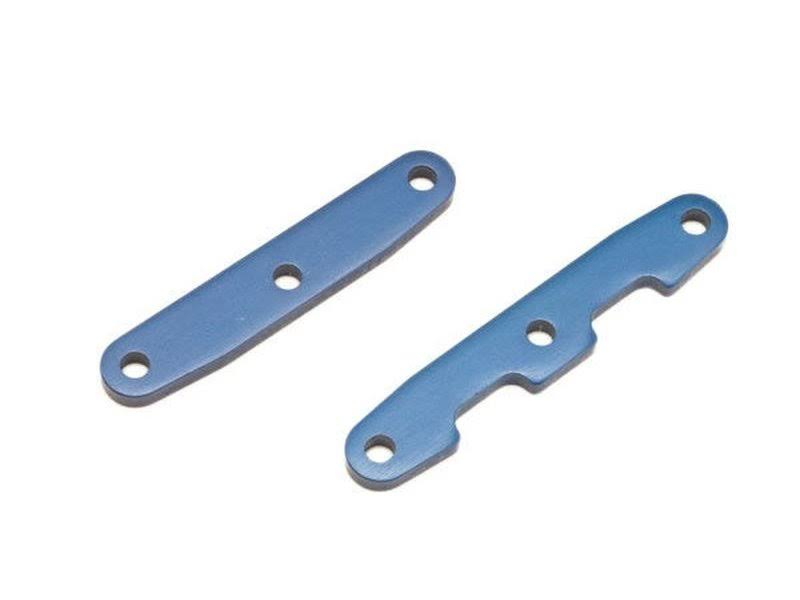 Traxxas TRA6823 Bulkhead Tie Bars Front and Rear Slash - 4x4, Blue Aluminum
