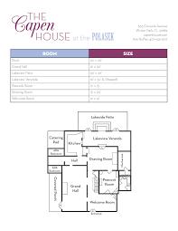 30 X 30 House Floor Plans by Floor Plan Capen House Wedding U0026 Events Venue In Winter Park