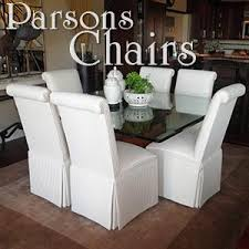 Custom Parsons Chairs And Dining Room That Reflect Your Personality Style
