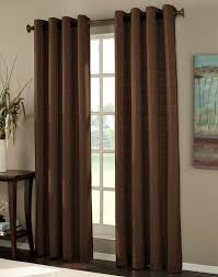 Brylane Home Grommet Curtains by Curtains And Drapes Thermal Decorate The House With Beautiful