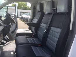 Ford Transit Custom Seat Covers - Grey - VanPimps