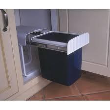 poubelle de cuisine coulissante monobac poubelle monobac 16l gestion des dechets accessoires cuisines