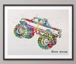 Original Watercolor Boys Monster Truck Poster Print Pictures Pop ... Fine Rat Fink Posters And Best Ideas Of 159296172_ed 5 Sponsors Eau Claire Big Rig Truck Show Vintage Vanbased Monster Crushing Modern Stock Vector Hd Scarlet Bandit Car Bigfoot Gigantic Print Poster Ebay Amazoncom Wall Decor Art Poster Jam Images About Trucks On Pinterest Giant Cartoon Anastezzziagmailcom 146691955 Extreme Sports Photo Radio Control Buggy And Classic Motsport Pack 8 Prints Gifts For Hot Wheels Monster Jam Stars And Stripers Collection Stunt Ramp Max