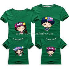 2015 new wholesale 100 cotton popular custom fashion cute family
