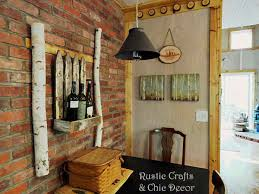 Rustic Dining Room Wall By Crafts