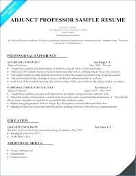 Sample Resume For Computer Science Lecturer Post