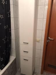 badezimmer regal hochglanz weiß