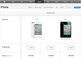 Unlocked iPhone 4S Pricing Leaked on Australian Apple Store