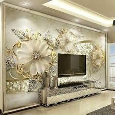 details zu neu blumen muster foto wandmalerei tapete wohnzimmer luxus hintergrund