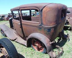 100 Rat Rod Truck Parts 1930 MODEL A FORD 2 DOOR SEDAN PROJECT BANGER RAT ROD OLD SCHOOL IN