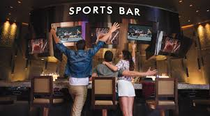 Sports Bars In Las Vegas - The Sports Bar - ARIA Resort & Casino 20 Sports Bars With Great Food In Las Vegas Top Bar In La Best Vodka A Banister The Intertional Is Located By The Main Lobby Tap At Mgm Grand Detroit Lagassescelebrity Chef Restaurasmontecarluo Hotels Macao Where To Watch Super Bowl Li Its Cocktail Hour To Go High Race Book Opening Caesars Palace Youtube With Casinoswhere Game And Gamble Sin Citytime Out Beer Park Budweiser Paris Michael Minas Pub 1842