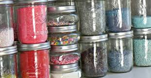Mason Jars Sprinkle Storage