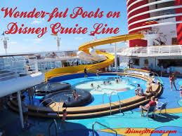 Disney Wonder Deck Plan by Disney Mamas Wonder Ful Pools On Disney Cruise Line Disney Mamas