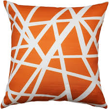Bird s Nest Orange Throw Pillow 20X20 from Pillow Décor