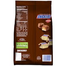 Halloween Candy Calories List by Snickers Minis Mix Chocolate Halloween Candy 40 Oz Walmart Com