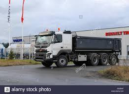 100 Volvo Truck Center LIETO FINLAND NOVEMBER 14 2015 Unidentified Driver Sets