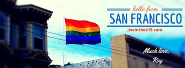 This Is A Photo I Took Of The Iconic Rainbow Flag On Castro Street In San