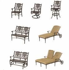 Hanamint Grand Tuscany Patio Furniture grand tuscany bar stool