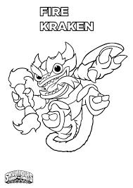 Coloring Page Skylanders Cartoons 38