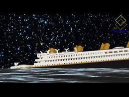 minecraft titanic sinking in 11 minutes youtube