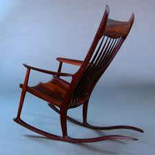 Maloof Rocking Chair Joints by Padauk Maloof Inspired Rocker Ghw Studio