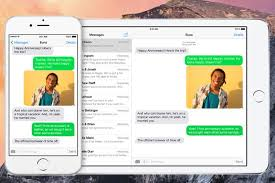 How to Send and Receive Text Messages on OS X Yosemite via iPhone