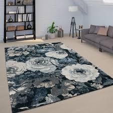 teppich wohnzimmer florale boho muster vintage design