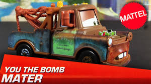 2013 Cars You The Bomb Mater Mattel Die-Cast 1:55 Radiator Springs ... Disney Cars 3 Transforming Mater Playset Jonelis Co Toys For Toon Monster Truck Wrastlin Lightning Mcqueen Tow Pixar 155 Diecast Metal Toy Car For Children Disney Cars And Secret 2 In 1 Road Trip Importtoys Movie Lights Sounds Amazoncouk Games Funny Talkers Assorted At John Lewis Partners Truckin Vehicle Hollar So Much Good Stuff Mattel Toysrus Large Finn Mc Missile Cars2 Rc Champion Series Review