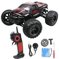 2.4GHz 1:12 Remote Controlled Cars RC Monster Truck Up 50MPH High ... 12 Volt Rc Remote Control Chevy Style Monster Truck A Quick History Of Tamiyas Solidaxle Trucks Car Action Traxxas Bigfoot Ripit Cars Fancing Stampede 4x4 Amazoncom Cheerwing 116 24ghz 4wd High Speed Offroad 112 24g 2wd Alloy Off Redcat Rampage Mt V3 15 Gas Cars For Sale Scale 143 Micro 8 Assorted Styles Toys Hosim Arrma 110 Granite Voltage Rtr Blue