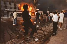 Looking Back At Rodney King And The L.A. Riots Editorial Design And Posters By Angie Rose Barker At Coroflotcom Attack On Reginald Denny Wikipedia Over 20 Years Ago During The La Riots After Rodney King Papers Look Back Beating Postverdict Riots Raw Footage Of Beatings April 29 1992 Why Protests Chinas Truck Drivers Could Put Brakes Truck Driver India Stock Photos Images When Erupted In Anger A Look Back At The Kcur Burn Baby Burn What I Saw As A Black Journalist Covering Watch Bus Driver Survives Dramatic Crash With Youtube How To Get Your First Driving Job Class Drivers