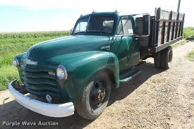 100 1951 Chevy Truck For Sale Chevrolet 6400 Grain Truck Item DC3945 SOLD August
