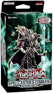 yugioh spellcaster s command structure deck konami https www