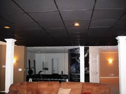 using drop ceiling tiles to give different home impression