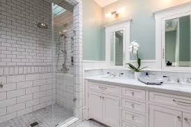Remodeling Nice Bathroom Design San Francisco Classic Photo 19 Of In Budget Breakdown A Duo Give Their Interior Company Regan Baker West Clay Grey And White Luxury Woodnotes Novelty Haas Lienthal House Victorian Bath San Francisco Otograph By Remodel Steam Shower Black Hex Floor Tiles Remodeling Pottery Barn Kids With Marble Tile Bathroom Rustic And Vanities Lovely Restoration Hdware Locationss Home Faucets New Traditional House Tour Apartment Therapy Reveal Meets Modern A