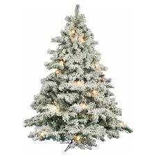 75 Pre Lit Flocked Christmas Tree by Artificial Flocked Christmas Trees Allaboutchristmass