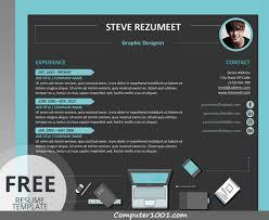 Template Resume CV Word Dan PowerPoint Yang Modern Kreatif
