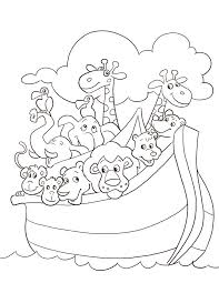 Pictures Noah Ark Coloring Pages 23 For Your Free Kids With